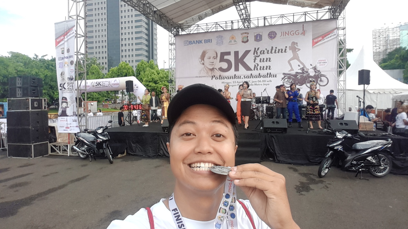 Serunya Kartini Fun Run 2017